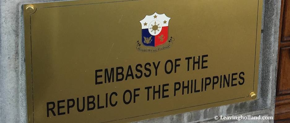 Email From The Philippine Embassy