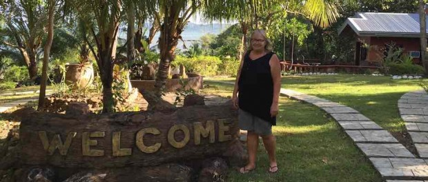 At a brand new resort on Guimaras island, I might stay there some time, the owner showed me around.