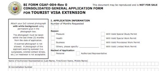 visa application Philippines