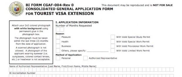 visa application Philippines