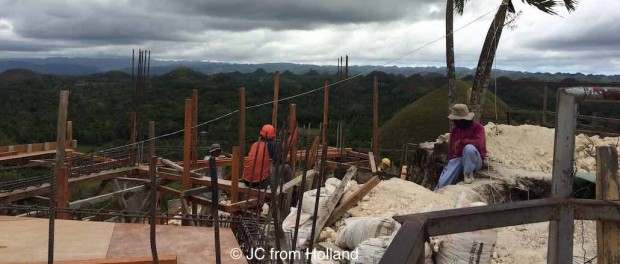 Chocolate hills viewing platform