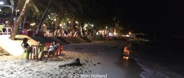night life Alona Beach Bohol