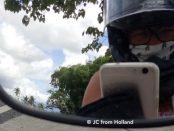 female, biker, Philippines, Yamaha, road trip, vrouw, Filipijnen, emigreren, expat, ladyrider