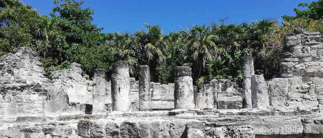 Maya ruins Cancun, Mexico