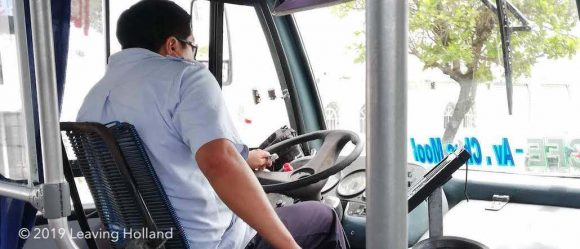 get a bus from the hotelzone, cancun, fare, price, cost, which bus, walmart, downtown, hotel zone