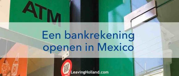 bankrekening in Mexico
