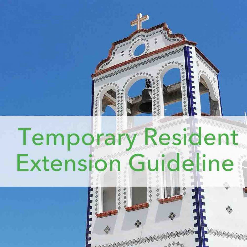 do it yourself temporary resident renewal mexico