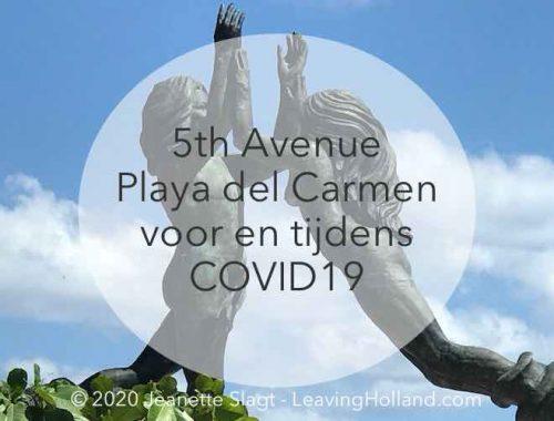 5th avenue Playa del Carmen Coronavirus