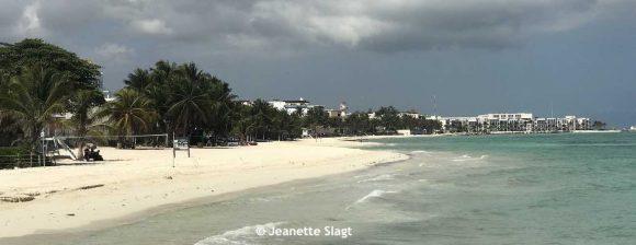 Lege strand Playa del Carmen