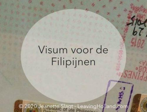 Visum aanvragen Filipijnen