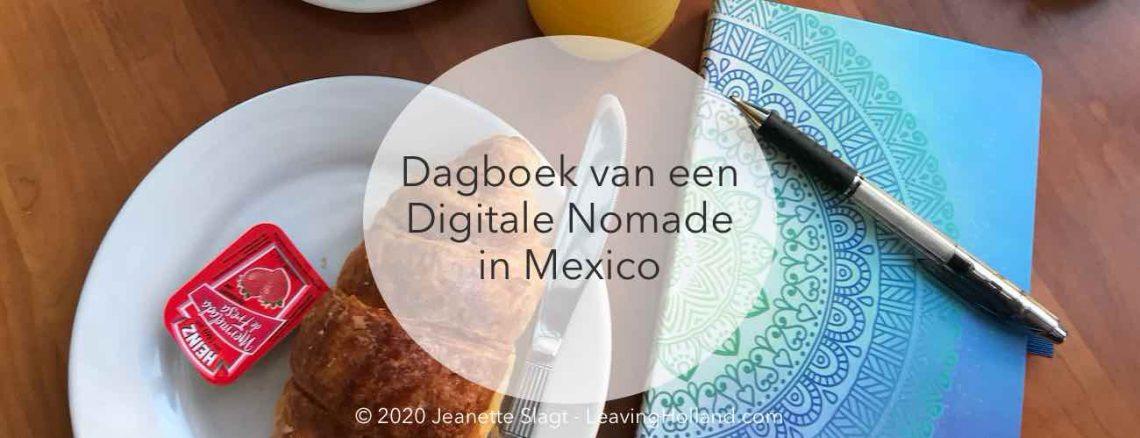 dagboek digitale nomade
