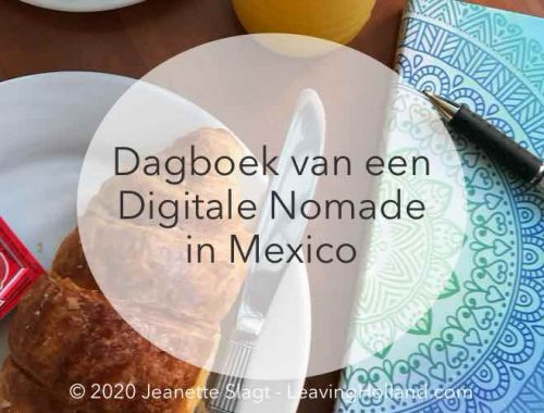 dagboek digitale nomade