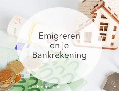 emigreren bankzaken