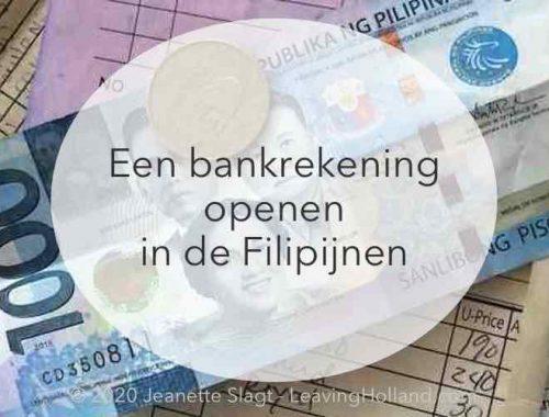 bankrekening Filipijnen