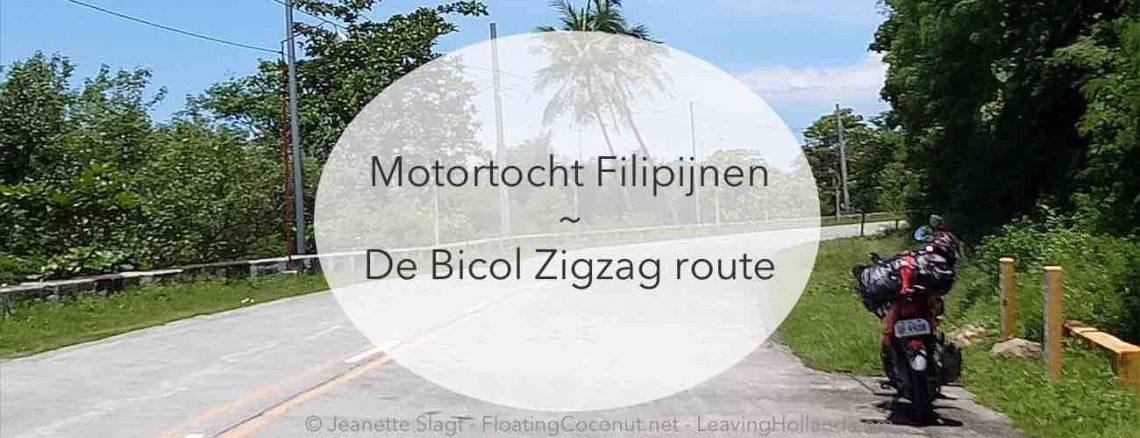 bicol zigzag route filipijnen reizen