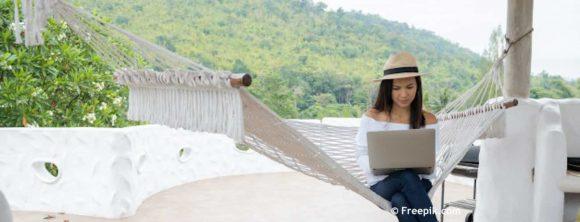 digitale nomade, werken en reizen, freelance, reizen, zzp