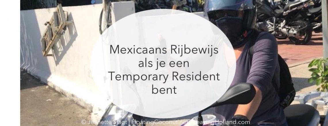 rijbewijs, Mexico, emigratie, temporary resident, visum, tijdelijke verblijfsvergunning, fmm, toerist