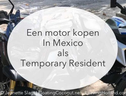 motor kopen, Mexico, registratie, kentekenplaten, temporary resident