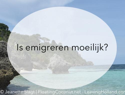 emigreren, emigratie