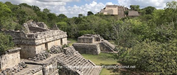Mexico, vakantie, ruines, ek balam, Maya tempels, reisfoto's